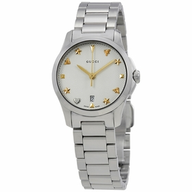 Gucci YA126572 G-Timeless Ladies Quartz Watch