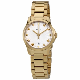 Gucci YA126576 G-Timeless Ladies Quartz Watch