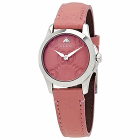 Gucci YA126578 G-Timeless Ladies Quartz Watch