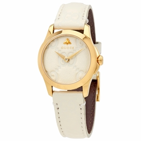 Gucci YA126580 G-Timeless Ladies Quartz Watch