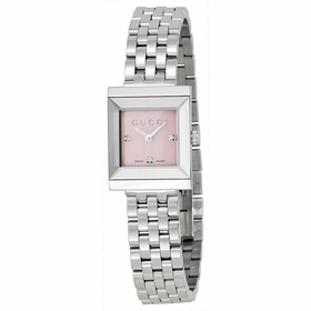 Gucci YA128401 G-Frame Ladies Quartz Watch