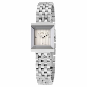 Gucci YA128402 G-Frame Ladies Quartz Watch