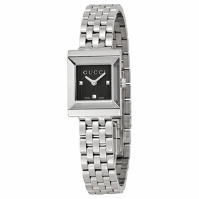 Gucci YA128403 G-Frame Ladies Quartz Watch