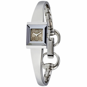 Gucci YA128510 G-Frame Ladies Quartz Watch