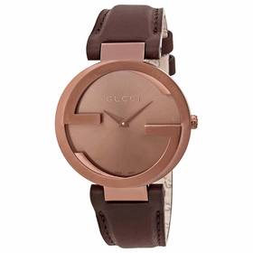 Gucci YA133309 Interlocking Ladies Quartz Watch
