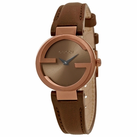 Gucci YA133504 Interlocking Ladies Quartz Watch