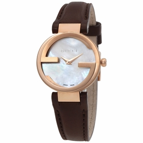 Gucci YA133516 Interlocking Ladies Automatic Watch