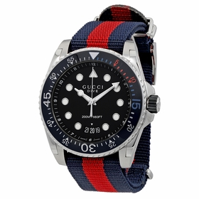 Gucci YA136210 Dive Mens Quartz Watch
