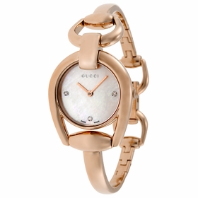 Gucci YA139508 Horsebit Ladies Quartz Watch