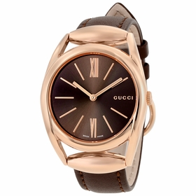 Gucci YA140408 Horsebit Ladies Quartz Watch