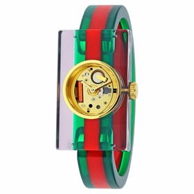 Gucci YA143503 Plexiglas Ladies Quartz Watch