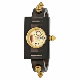 Gucci YA143509 Studded Plexiglass Ladies Quartz Watch