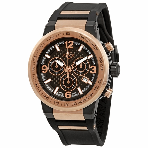GV2 by Gevril 8201 Novara Mens Chronograph Quartz Watch
