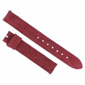 Hadley Roma Bougainvillea Pink 14 MM Ostrich Leather Strap