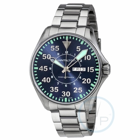 Hamilton H64715145 Khaki Aviation Mens Automatic Watch