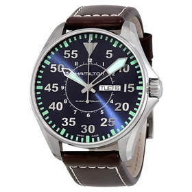Hamilton H64715545 Khaki Aviation Pilot Mens Automatic Watch
