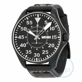 Hamilton H64785835 Khaki King Pilot Mens Automatic Watch