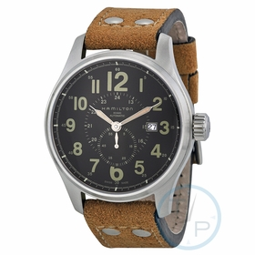 Hamilton H70655733 Khaki Officer Mens Automatic Watch