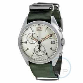 Hamilton H76552955 Pilot Pioneer Mens Chronograph Quartz Watch