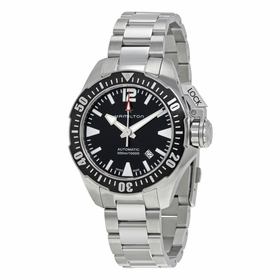 Hamilton H77605135 Khaki Navy Frogman Mens Automatic Watch