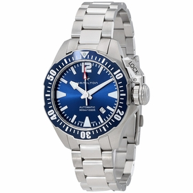 Hamilton H77705145 Khaki Navy Frogman Mens Automatic Watch