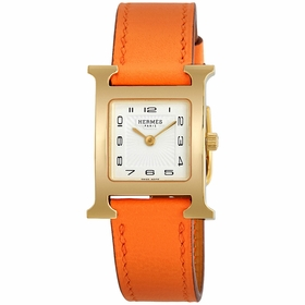 Hermes 036736WW00 H Hour Ladies Quartz Watch