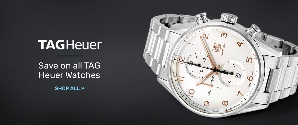 Tag Heuer: Save on all TAG Heuer Watches | Shop Now