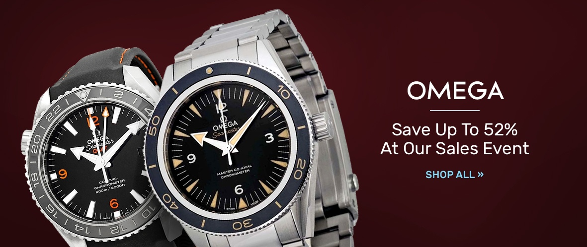 Omega: Save Up to 52% At Our Sales Event   Shop Now