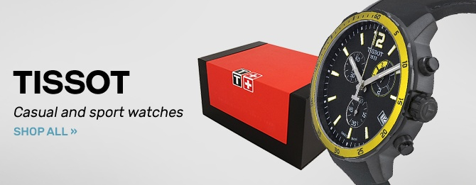 Tissot: Casual and sport watches   Shop Now