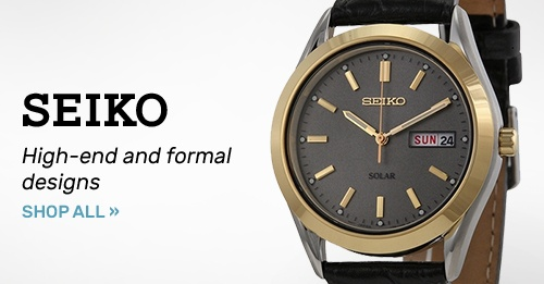 Seiko: High-end and formal designs   Shop Now