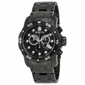 Invicta 0076 Pro Diver Mens Chronograph Quartz Watch