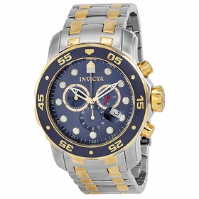 Invicta 0077 Pro Diver Mens Chronograph Quartz Watch