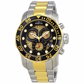 Invicta 19839 Pro Diver Mens Chronograph Quartz Watch
