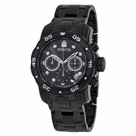 Invicta ILE0076A Pro Diver Mens Chronograph Quartz Watch
