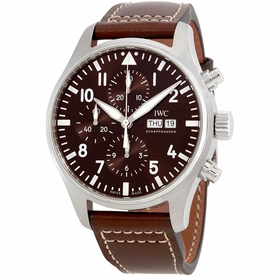 IWC IW377713 Pilot Mens Chronograph Automatic Watch