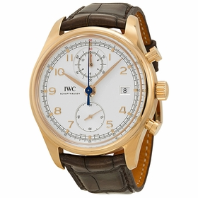 IWC IW390402 Portuguese Mens Chronograph Automatic Watch
