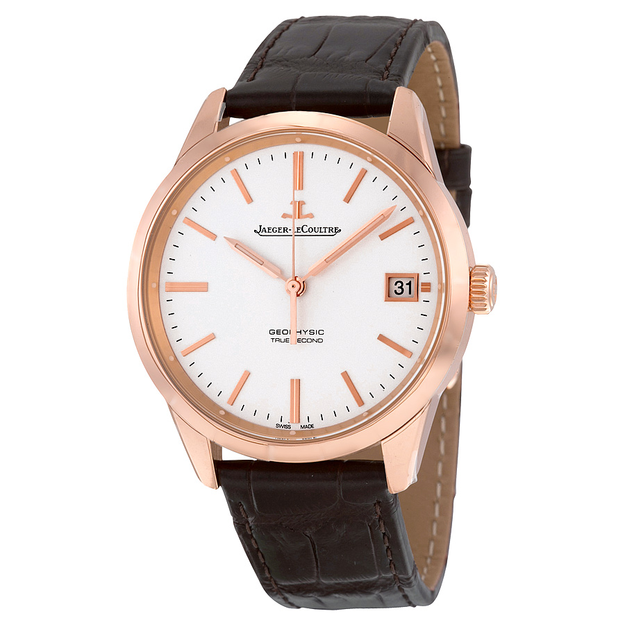 Jaeger lecoultre q8012520 geophysic mens automatic watch for Geophysic watches