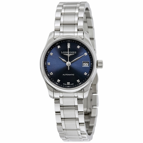 Longines L2.128.4.97.6 Master Collection Ladies Automatic Watch