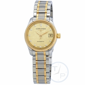 Longines L2.128.5.38.7 Master Ladies Automatic Watch
