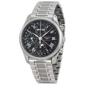 Longines L2.673.4.51.6 Master Collection Complete Calendar Mens Chronograph Automatic Watch