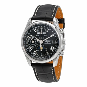 Longines L2.673.4.51.7 Master Collection Complete Calendar Mens Chronograph Automatic Watch