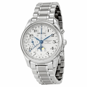 Longines L2.673.4.78.6 Master Collection Complete Calendar Mens Chronograph Automatic Watch