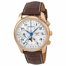 Longines L2.673.8.78.3 Master Collection Complete Calendar Mens Chronograph Automatic Watch