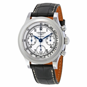 Longines L2.768.4.13.2 Heritage Mens Chronograph Automatic Watch