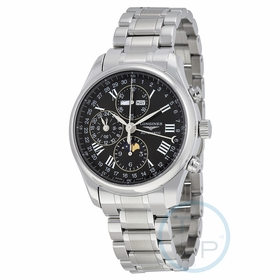 Longines L2.773.4.51.6 Master Collection Complete Calendar Mens Chronograph Automatic Watch