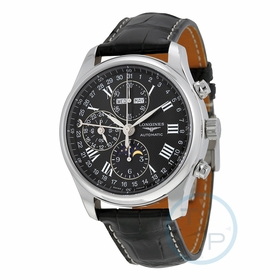 Longines L2.773.4.51.7 Master Collection Complete Calendar Mens Chronograph Automatic Watch