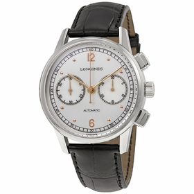 Longines L2.814.4.76.0 Heritage Mens Chronograph Automatic Watch