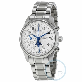 Longines L2.773.4.78.6 Master Collection Complete Calendar Mens Chronograph Automatic Watch