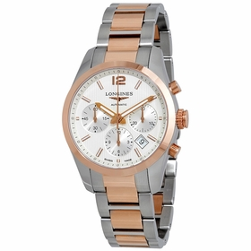 Longines L27865767 Conquest Mens Chronograph Automatic Watch