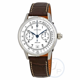 Longines L28004234 Heritage Mens Chronograph Automatic Watch